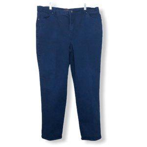 👖BOGO Gloria Vanderbilt Blue Amanda Jeans 16W
